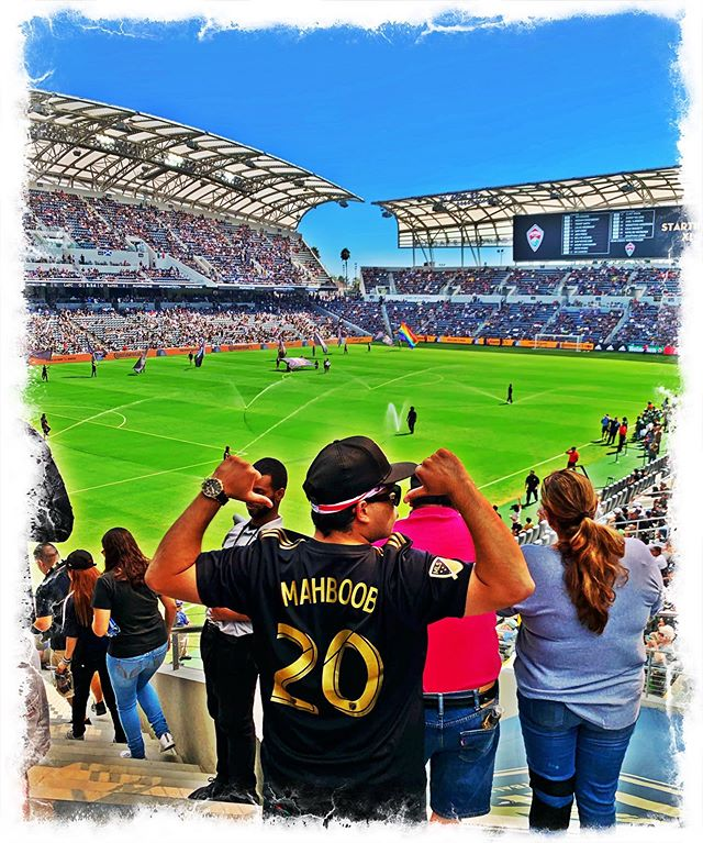 """I'm definitely goin to be the old guy who gathers his grandchildren around and tells them stories upon stories of 2018/2019...how I witnessed the most dominant team in the history of the @mls and watched the most amazing goals by el mexicano @carlosv11_ ! 🇲🇽 From the very first game to the 2nd season with him lifting the supporters shield! What an amazing experience ! Fresh off my World Cup experience, I was excited to keep on supporting Iran with my fellow countrymen @sbeita33 putting in a 1st class defensive hold on everyone and their mammans in the mls! 🇮🇷 and Finally being able to work with @latifblessing brand @90plusculture for their white/green/red """"Dale Dale Dale"""" shirts and apparel. I can't say it enough! What a time to be alive and we aren't done yet Go LAFC, 3 more wins por favor/lotfan!"""