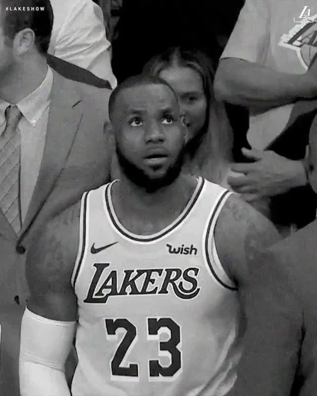 WE ARE BACK BABY , LAKERS FOR LIFE! . . . . .