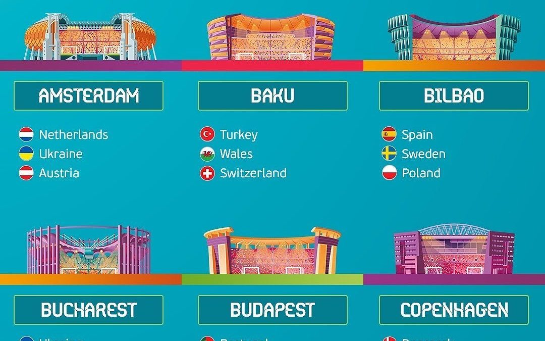 If I book my ticket now with no insurance I have to go ! To mark the 60th edition of the tournament 12 cities across Europe will host some games!how awesome is that! WHOSE COMING WITH ME?!