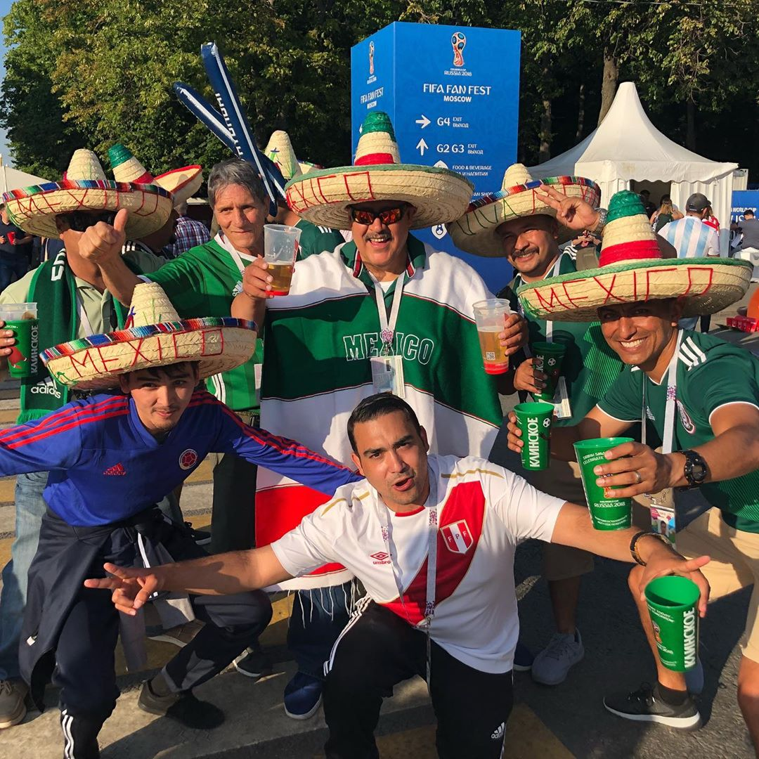 """When I Travel Abroad and I see a group of Mexicans, I sprint over and tell them the story of how , """"mi mama ES de Merida mexico, viva Mexico""""...90% of the time it turns into this pose along with downing a beer together after the picture"""