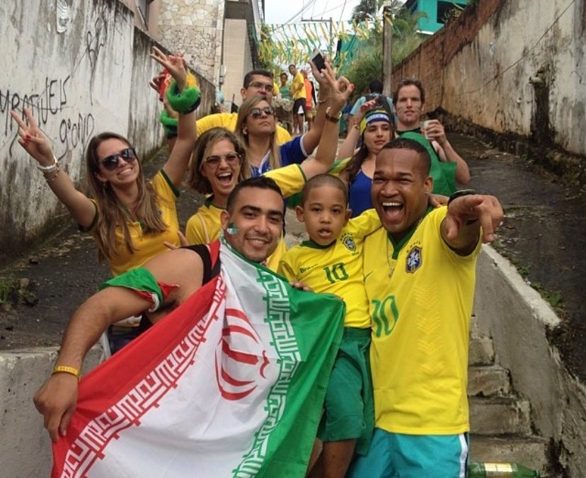 Every THURSDAY, I'll throw one Photo with a story because what else am I supposed to do with these old gems ! Ok here we go! The Year was 2014 and I had to had to hit up Brazil for the ! The best part of the World Cup are not only games but the amazing like minded individuals you will meet that are from ALL over the world! I was chillin on these steps waiting for my dad to catch up! I was so excited! We were headed to watch Iran va Bosnia-Herzegovina, It sucks when the taxi drop off is so far from the stadium lol….While waiting I had a great chat with these random , I never saw them ever again but I remember the whole convo! I wonder what they are up to right now lol! Some people you can keep in touch with but those small moments you will never forget are dope AF! . . . . .