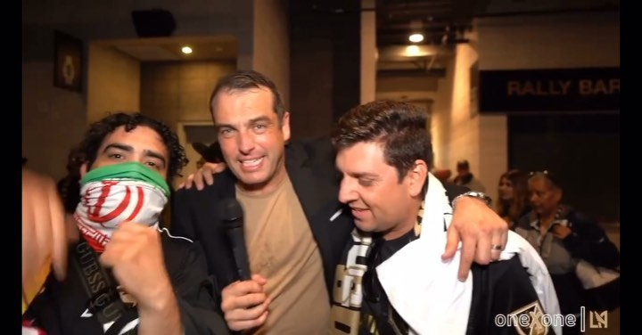 Facts , I am Persian and I am Mexican haha @lafc  @mbretos GREAT TIMES !! . . . . .