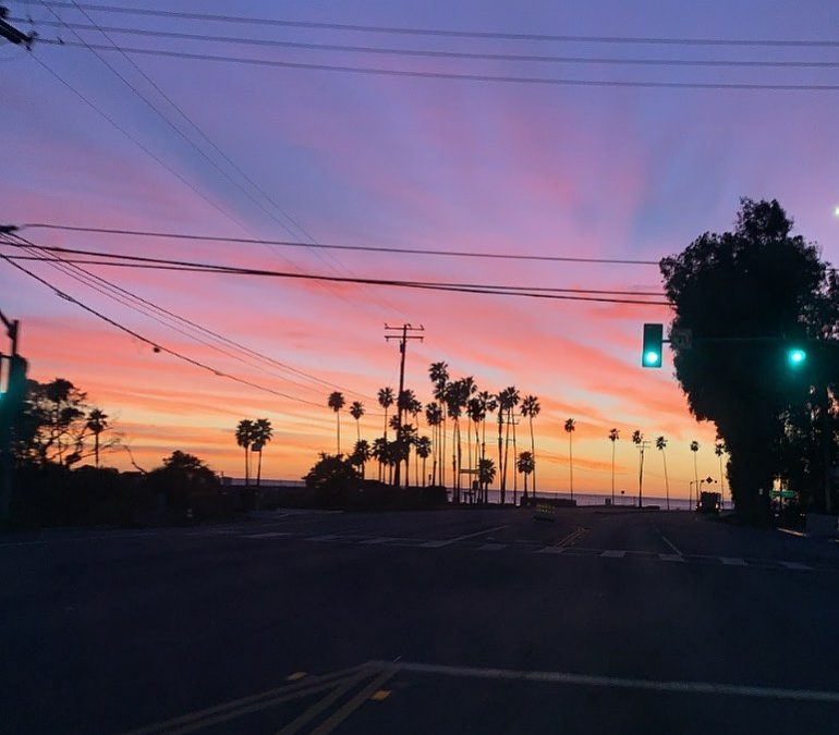 Sunsets will never get old! I was lucky enough to watch the sunset from start to finish …watching this beauty of a color while driving down PAcific Coast Highway Last night…what a view! I love living in LA, if you haven't been here then you need to come…Biggie was semi right, #Cali, Or live biggie or live . . . .