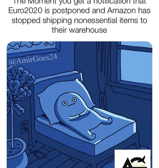 Amazon is suspending nonessential items to their warehouse and will still Ship to your home so relax ok….but If u see me in the stores don't stab me please thanks! DM me if u have a weapon to sell to Thanks! . . . . . #