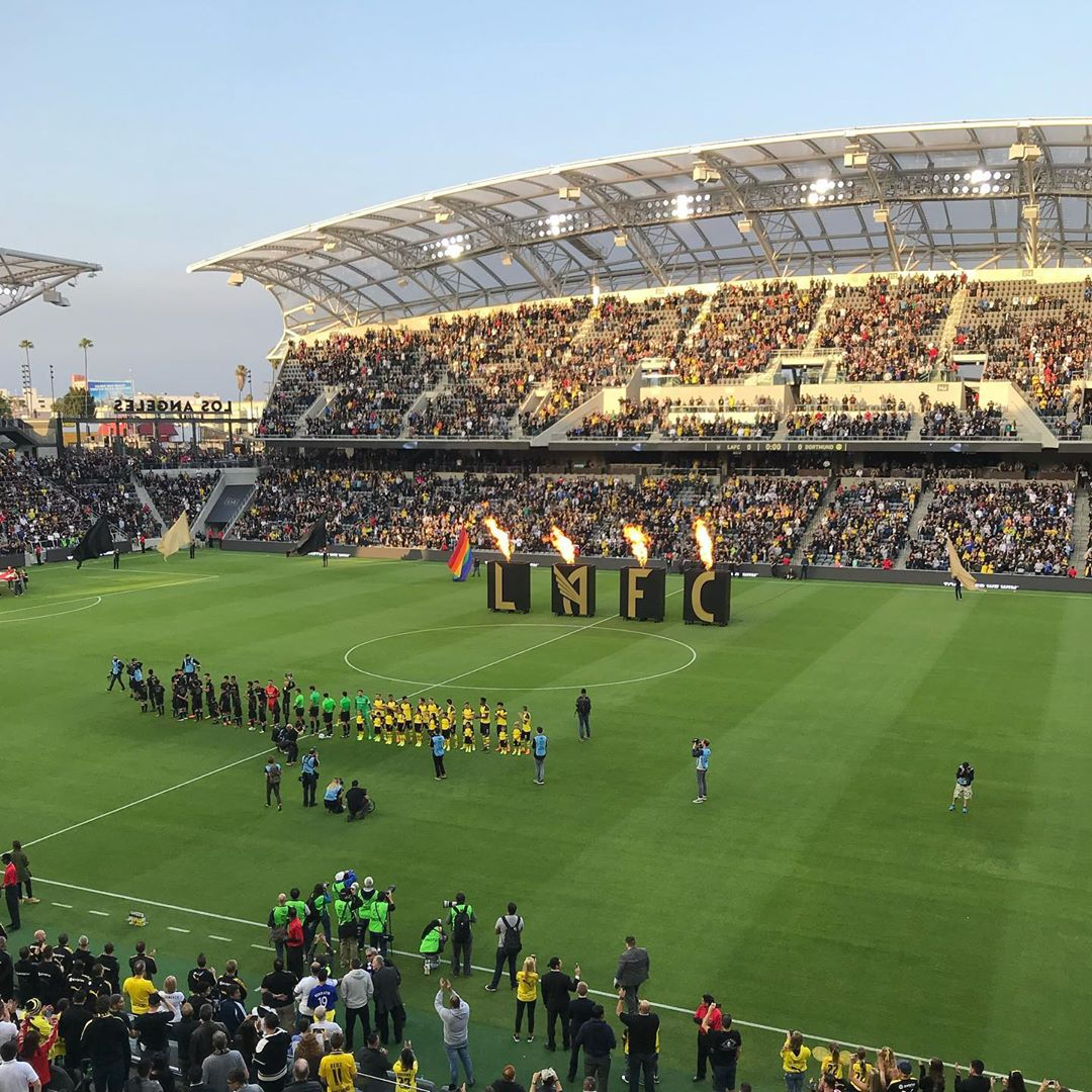2 years ago today I brought my Dad to the Banc for his first time!  Dortmund vs LAFC on May 22, 2018! 3 weeks later we were on our way to Mother Russia for the World Cup! 2018 was a FANtastic year without a doubt! . . . . .
