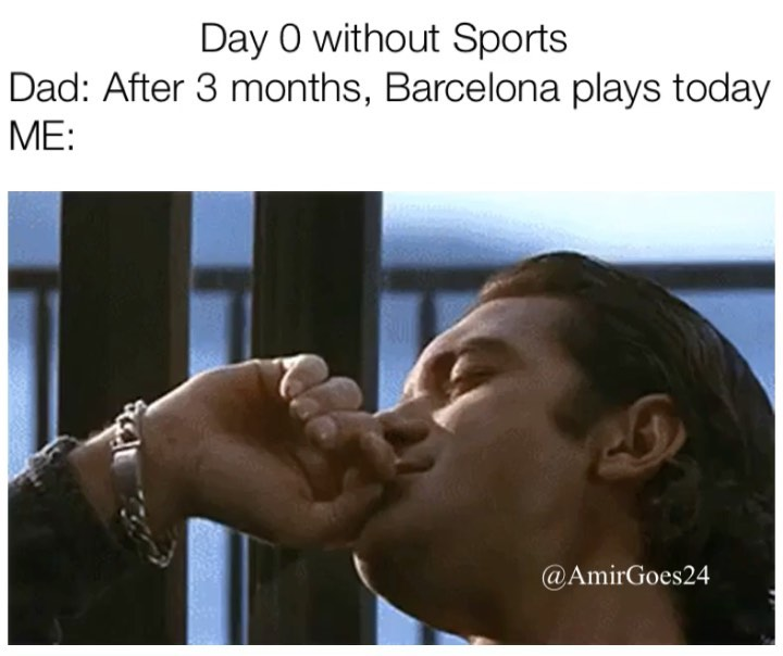 Let the Games Begin! All of my favorite Teams are beginning to slowly come back and first up is Barcelona! They play today at 1 and I can't wait!!! Thank you baby Jesus ! Now let's really quarantine  11 games left and matches every 3 days too 🤯 . . . . .