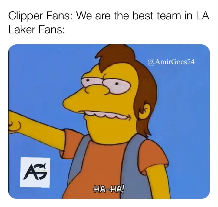 When the clippers lose we win! Everytime!  . . . . .