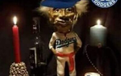 Dear Jobu, I know I've asked for a lot lately but if we can please just get one more win tomorrow then 4 more after that, I promise I won't ask for anything anymore! At least for the rest of the year lol GO DODGERS!! Thank you, Amir Goes ⁣ .⁣ .⁣ .⁣ .⁣ .⁣
