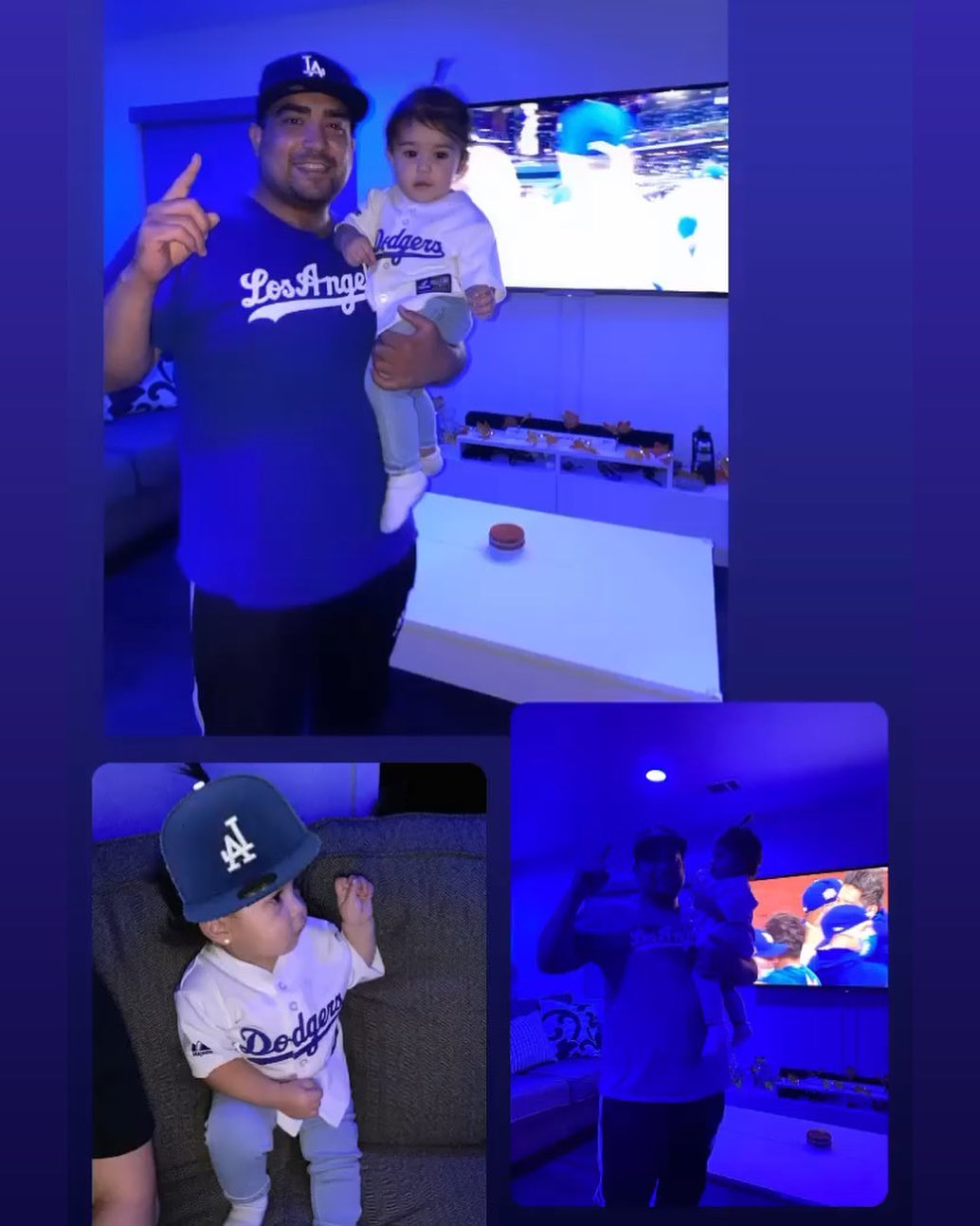 I can't believe Los Angeles has won 2 championships in one year and we couldn't be there but illllll take it! Mila is 2-0 and doesn't know what it has been like all these years with all these losses!!! Damn I'm soooo happy ! ⁣ .⁣ .⁣ .⁣ .⁣ .⁣
