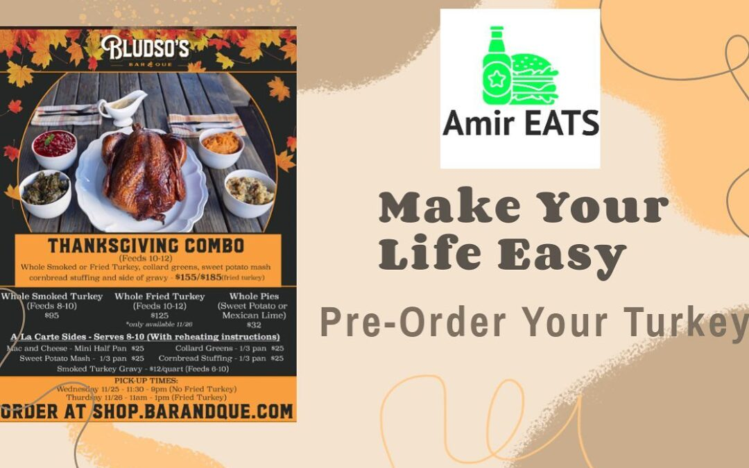 "I'm excited to share with everyone my Premier Episode of my new Series ""Amir EATS"", now live on my YouTube page MahboobTubeTV (link in my bio) just click this pic and it will redirect you to the video! Amir EATS will have episodes of various restaurants around Los Angeles and highlighting ways to make a sports fan life easier not hungrier haha! Hope you like it! I ordered a fried turkey from  for Thanksgiving! Check it out! ⁣ .⁣ .⁣ .⁣ .⁣ .⁣"