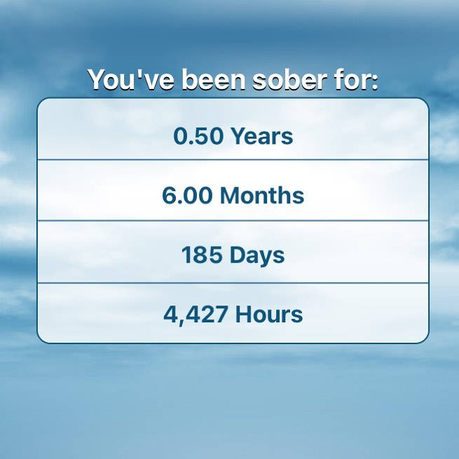 I'm extremely happy and grateful to announce, today I am 6 months sober! No alcohol, no weed, no fun drugs, no nada! The first selfish act I'm proud of !  . . . . .