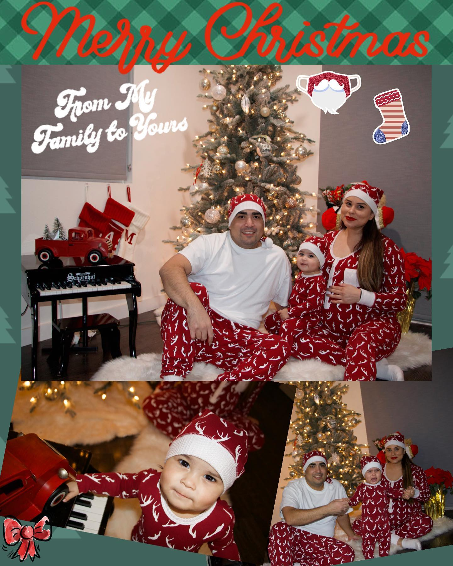 Merry Christmas from my growing Family to Yours! May the sports continue on this glorious day :) . . . . .