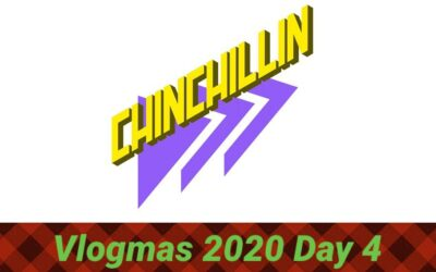 "Vlogmas 2020 Rolls on, Day 4 was posted yesterday and Day 5 up now! Link in my bio!! Day 4 I introduced Tenedor to my YouTube fam and we started a YouTube page for him too, ""CHINCHILLIN"" look for this logo! Day 5 we took Christmas pictures and had some carne Asada from Vallarta, my fave!!! I also received an early Christmas gift, an LAFC bag so I can take with me to the hospital woo hoo! ⁣ .⁣ .⁣ .⁣ .⁣ .⁣"
