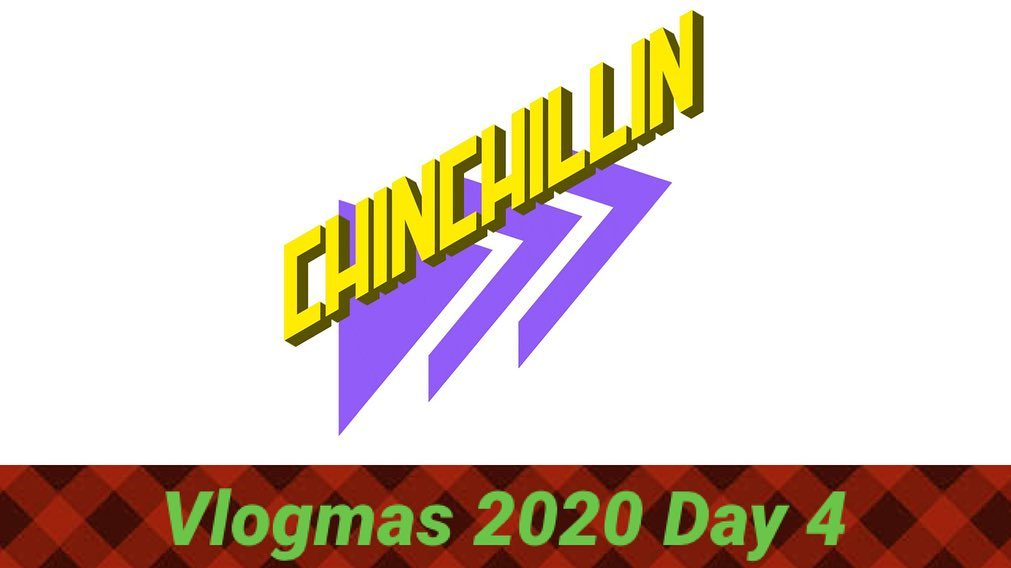 """Vlogmas 2020 Rolls on, Day 4 was posted yesterday and Day 5 up now! Link in my bio!! Day 4 I introduced Tenedor to my YouTube fam and we started a YouTube page for him too, """"CHINCHILLIN"""" look for this logo! Day 5 we took Christmas pictures and had some carne Asada from Vallarta, my fave!!! I also received an early Christmas gift, an LAFC bag so I can take with me to the hospital woo hoo!  . . . . ."""